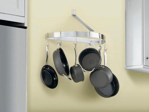 27. Подвесьте сковородки и кастюли кухня, обустройство