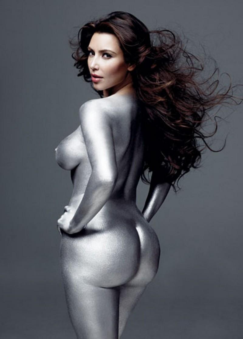 Kim Kardashian New Nude