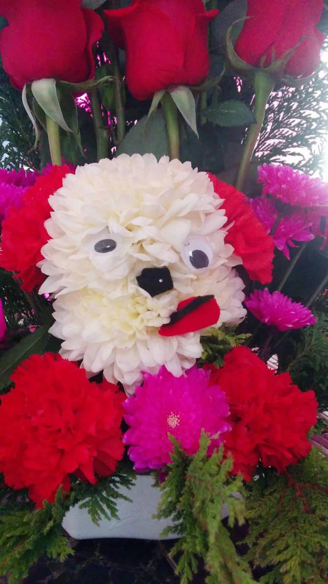 смешные букеты цветов фото время считалось, что