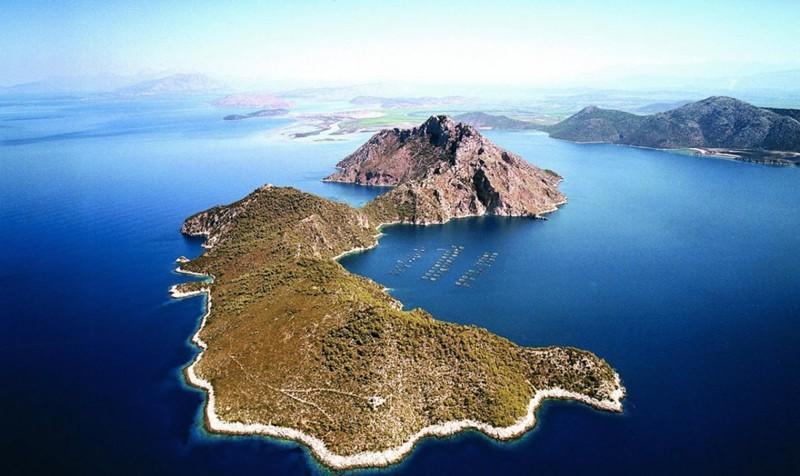 продается остров в греции