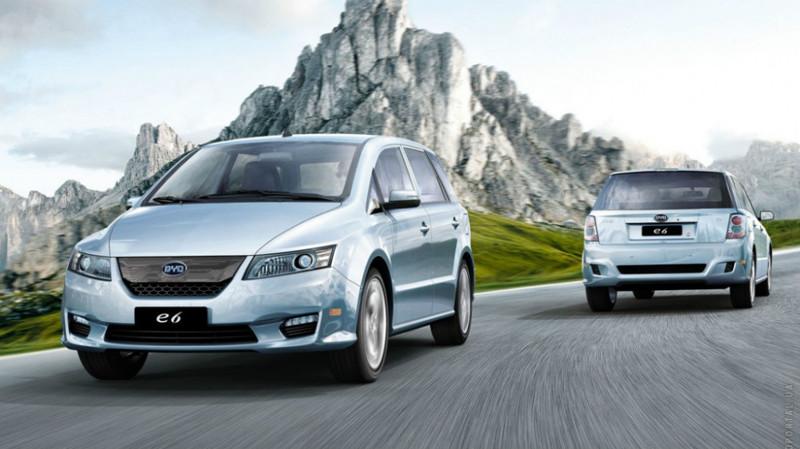8. BYD E6 — от 1 600 000 рублей. авто, электроавтомобили