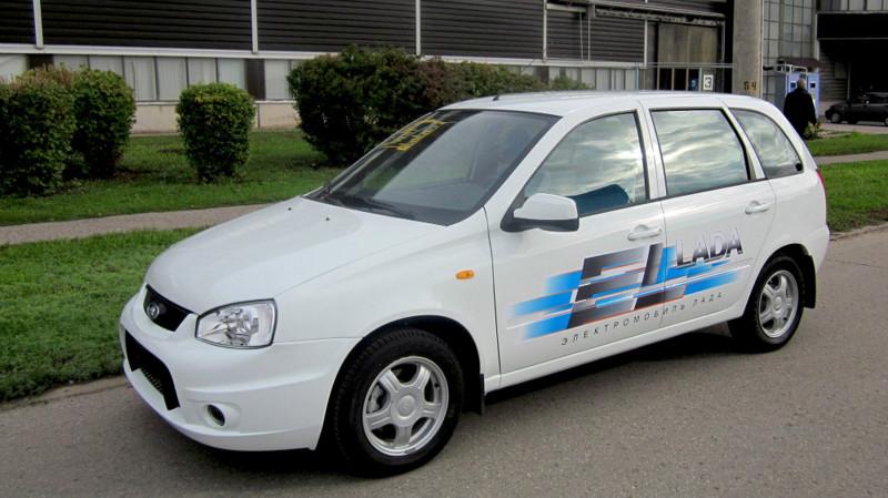 10. ВАЗ Ellada — от 1 000 000 рублей. авто, электроавтомобили