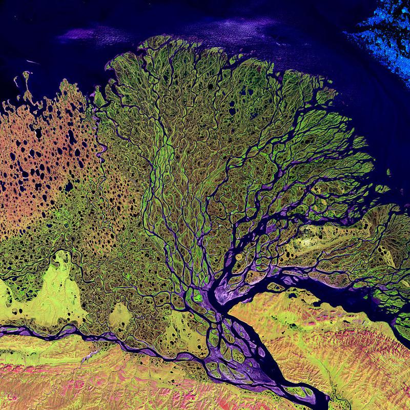 11. Дельта реки Лена — Сибирь, Россия. интересное, удивительные фотографии, фото