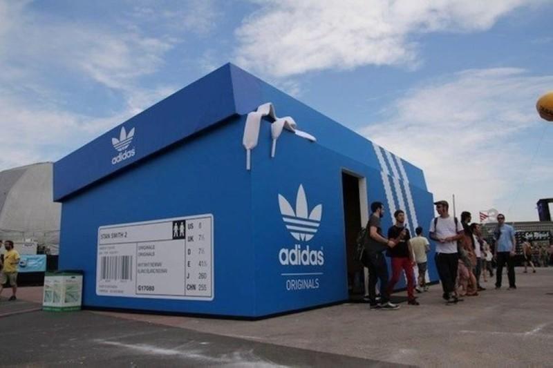 9. Магазин Adidas в Амстердаме. интересное, удивительные фотографии, фото
