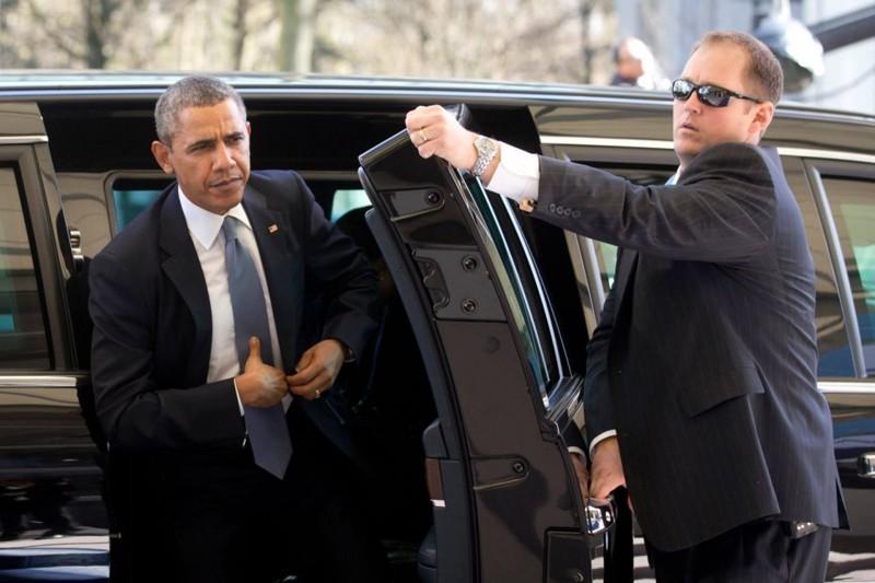 13. Дверь в автомобиле Обамы. интересное, удивительные фотографии, фото