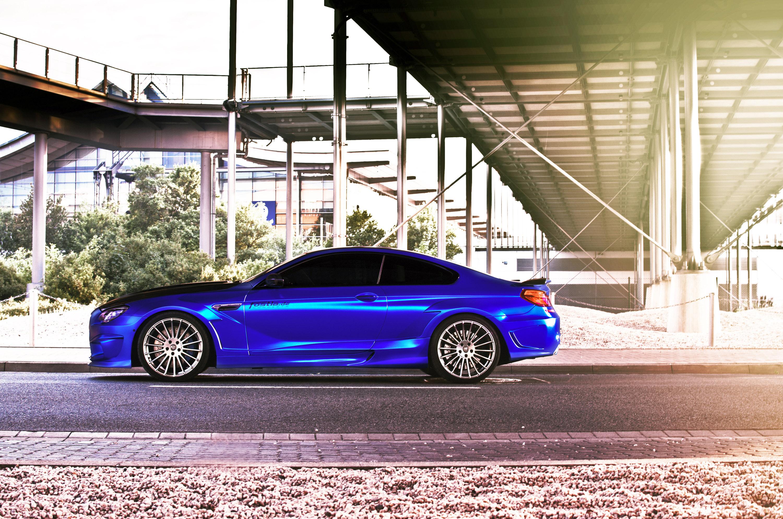 Матово-синий BMW M6 от ателье Hamann bmw, hamann, автотюнинг, тюнинг