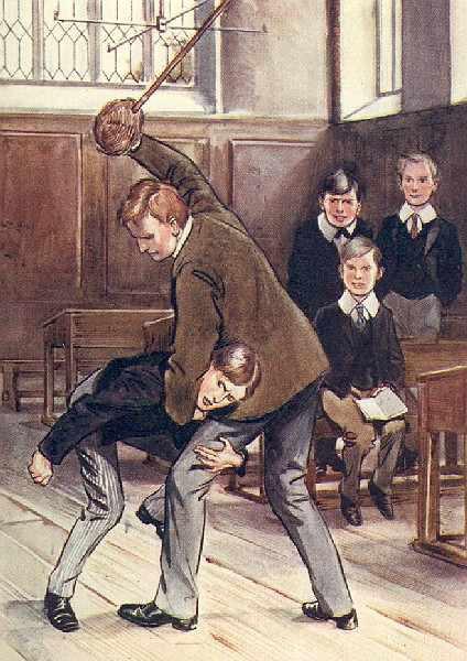 Наказание непослушных парней