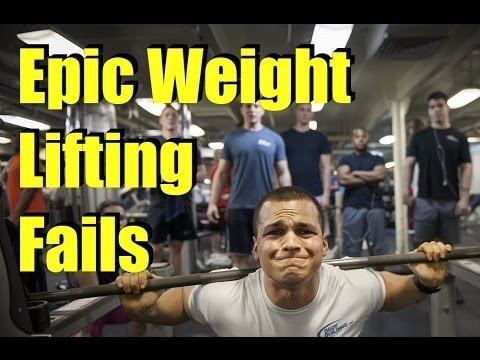Epic Weight Lifting Fail Compilations
