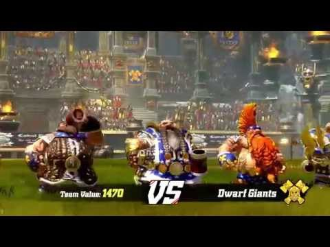 BLOOD BOWL 2 DARK ELVES' TRICKS AND TREATS! Геймплей!