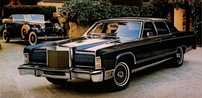 1979 Lincoln Continental Collector's Series интересно, культовые автомобили