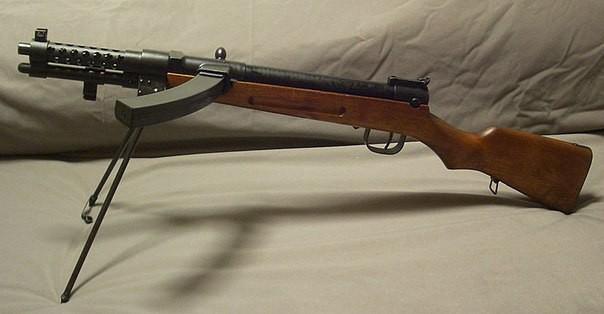 Пистолет-пулеметы Второй мировой войны. Испания и Япония.