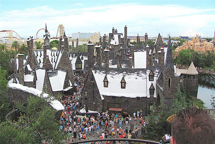 20. Волшебный мир Гарри Поттера лунапарк, места, парк аттракционов