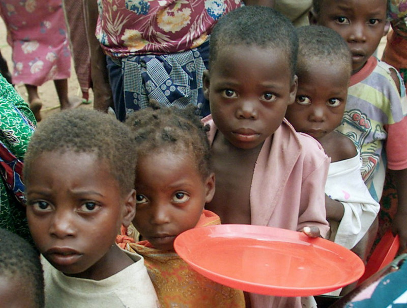 the perfect example of hunger and poverty in the cases of somalia and rwanda