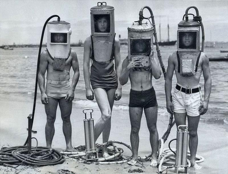 Коллаж сказок, водолазный костюм смешные картинки