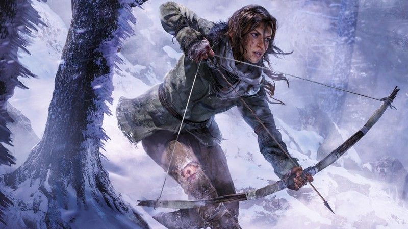 Rise of the Tomb Raider  девушки, игры