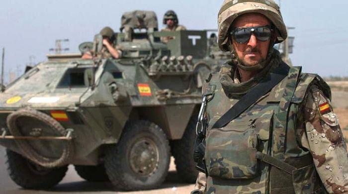 5. Испания армия, германия, дедовщина, испания, россия, сша