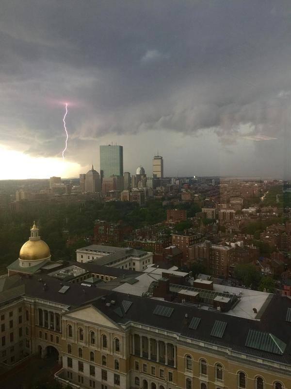 Шторм в Бостоне кадр, мгновенье, фото