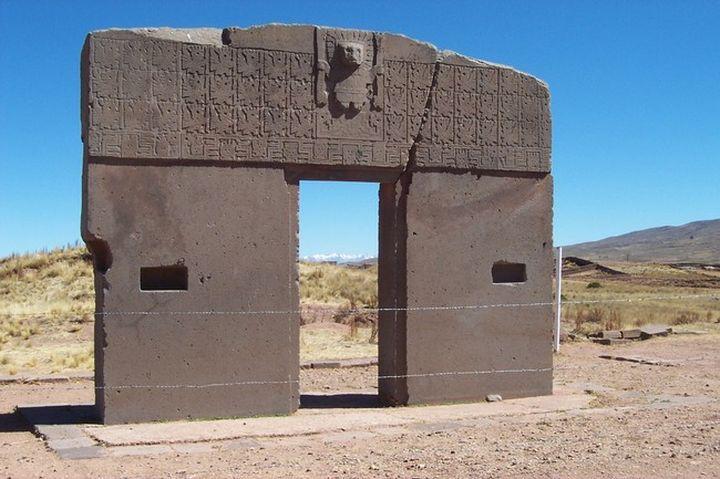 4. Ворота Солнца археолог, находки