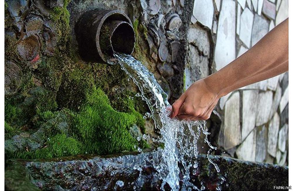 Вода в дилижане занимает
