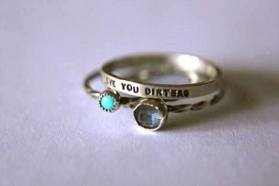 6. Кольцо, которое скажет все за тебя: подарок, сарказм