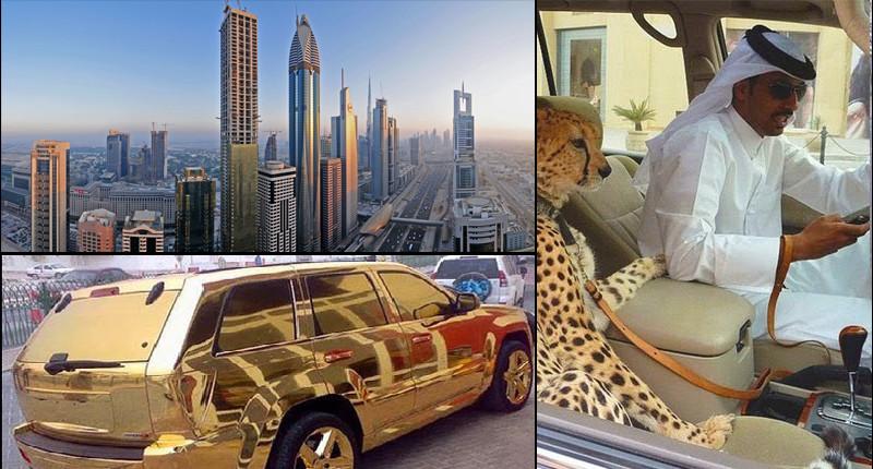Причуды богатых. Город Дубай