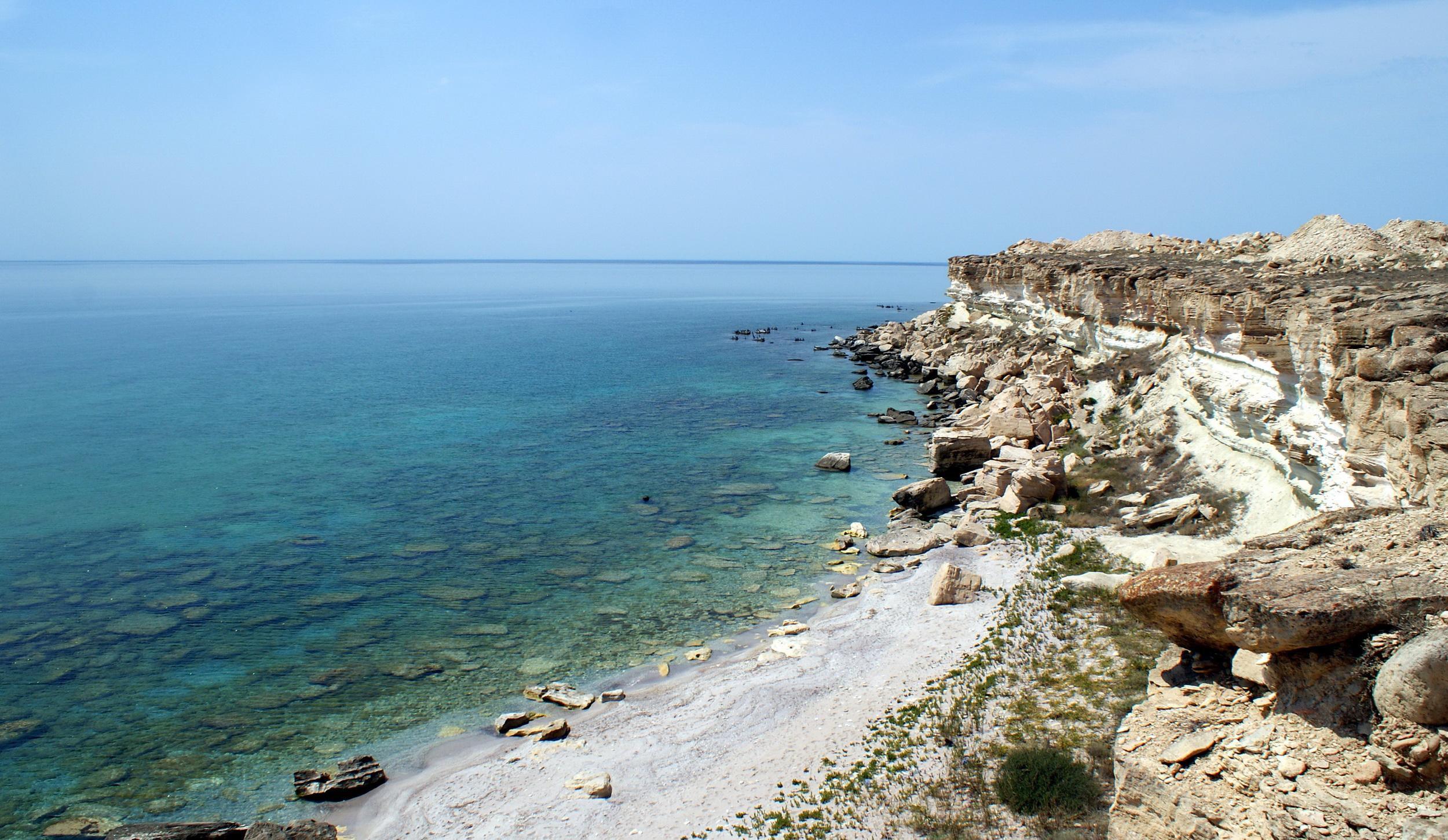 берег каспийского моря фото вообще делать