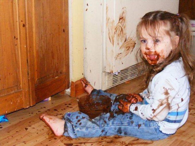 Шоколадоман. дети, позитив