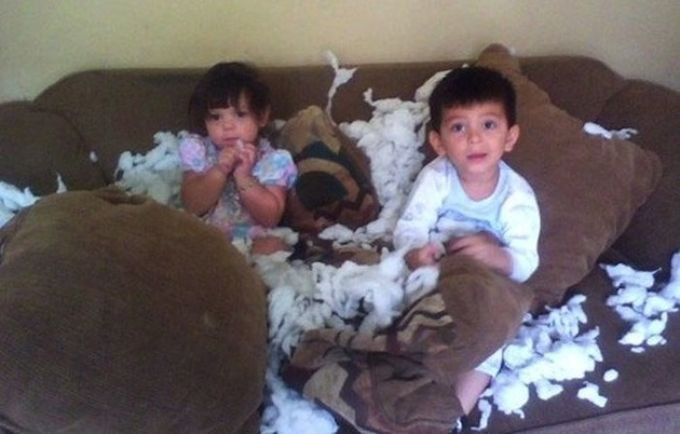 Укротители подушек. дети, позитив