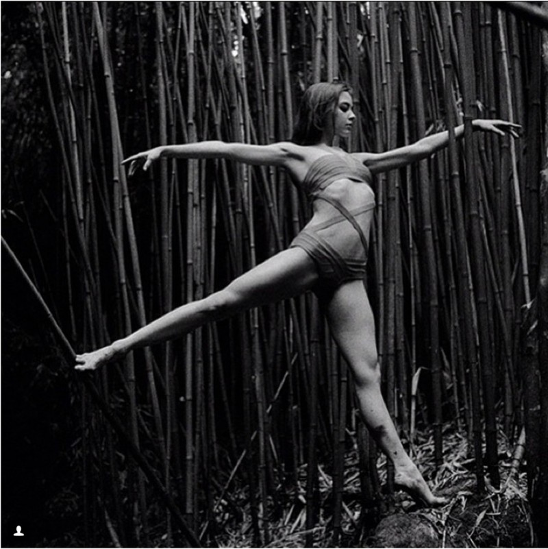 5. Zarina Stahnke балерина, балет, девушка