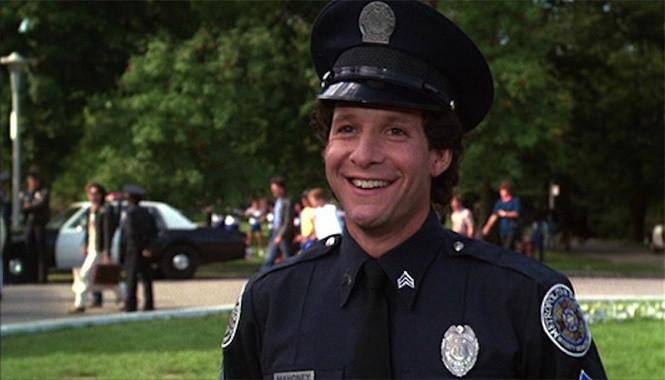 Видео полицейская академия минет