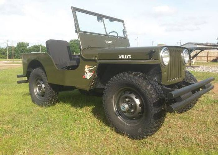 1948 Willys Jeep V8, МКПП $6,000 авто, автомобили, аукцион, цена