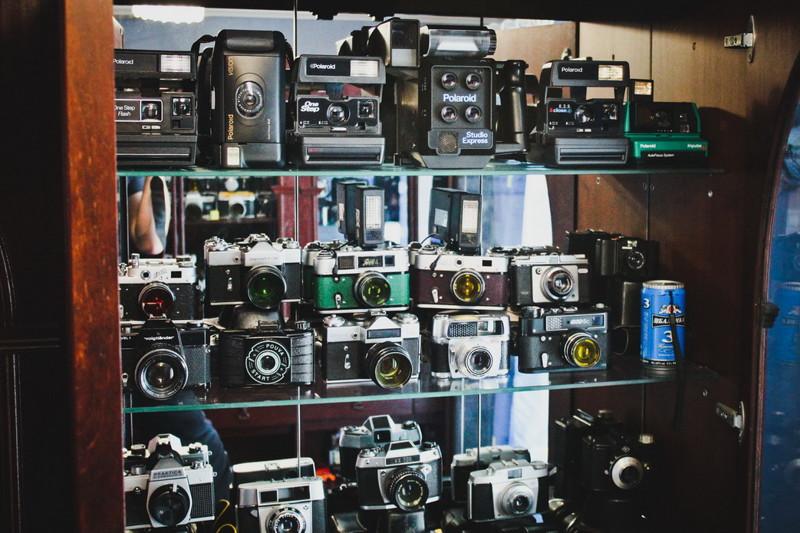музей советских фотоаппаратов уделяла