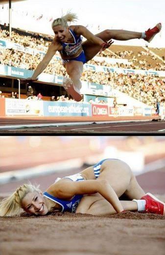 4. Она просто наслаждается соревнованием... и своей красотой модели, фото, фотогеничность