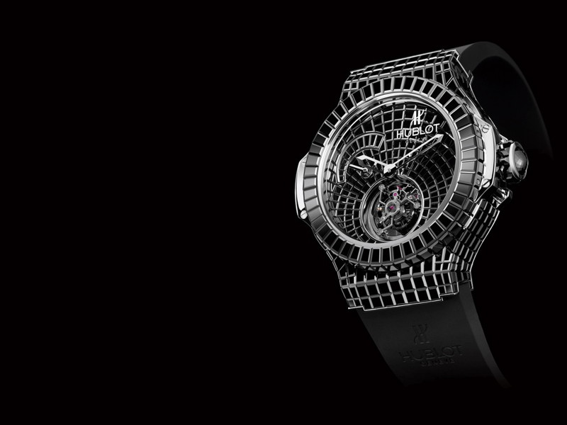 2. Часы Hublot Black Caviar Bang. богачи, деньги, миллион