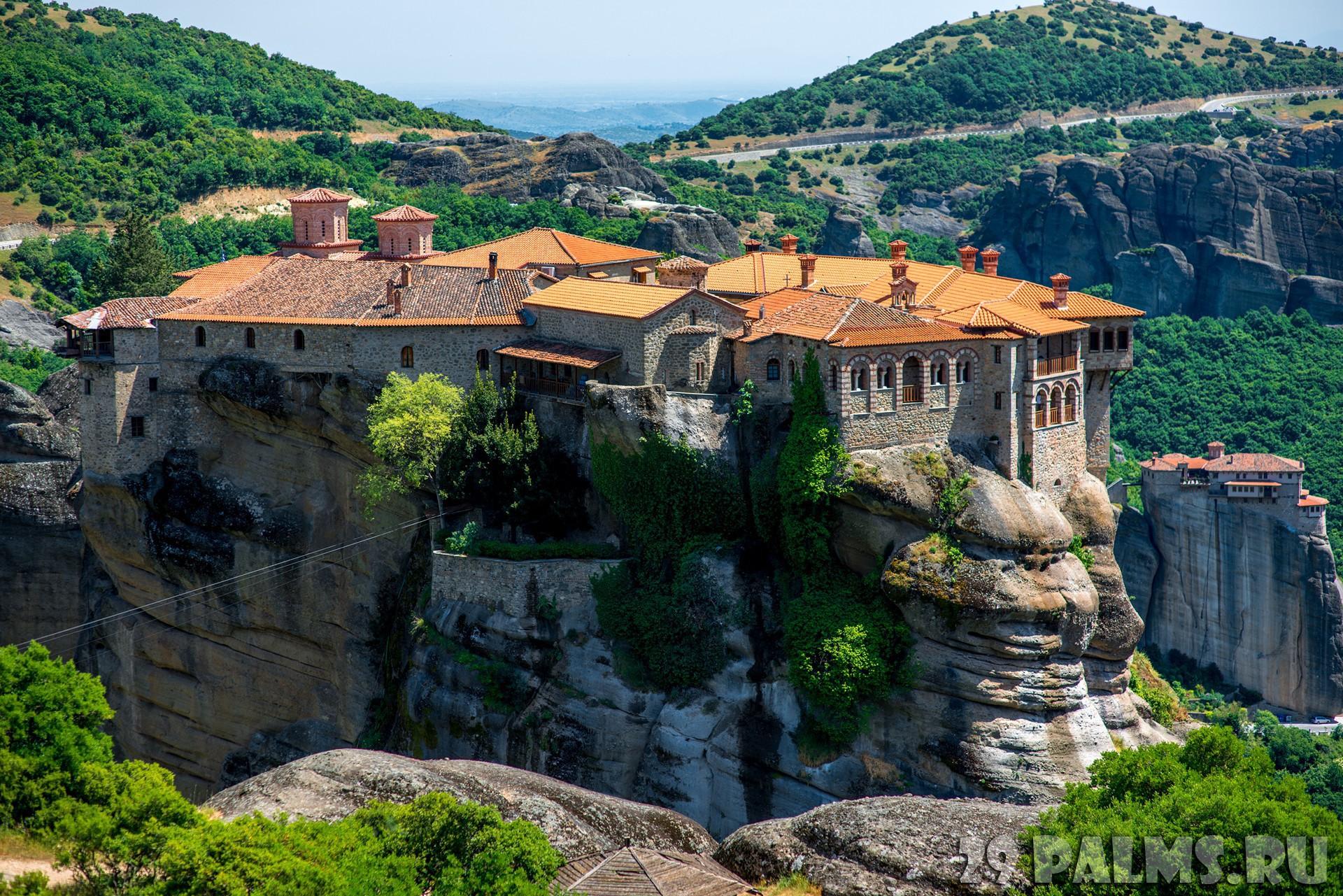 Varlaam Monastery, Meteora, Greece скачать
