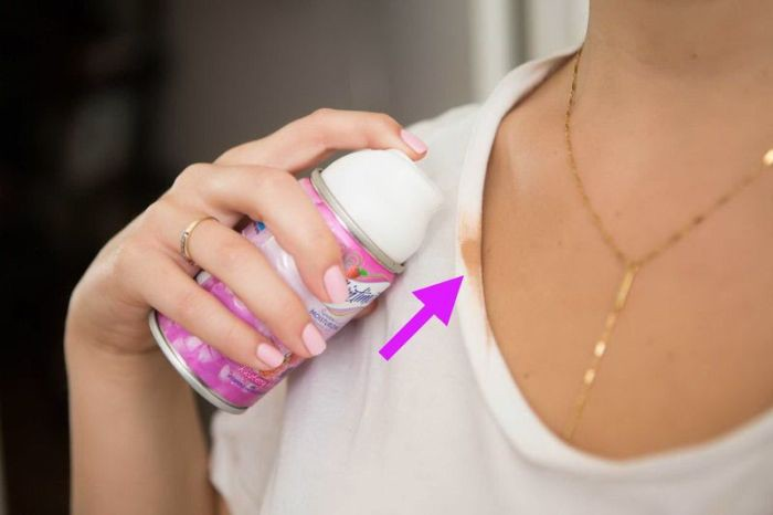 1. Чтобы очистить пятно от тонального крема одежда, совет, чистка
