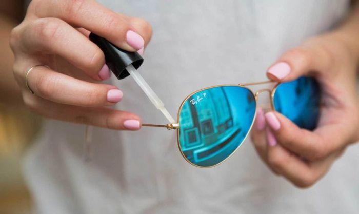 10. Чтобы закрепить винтик на очках одежда, совет, чистка