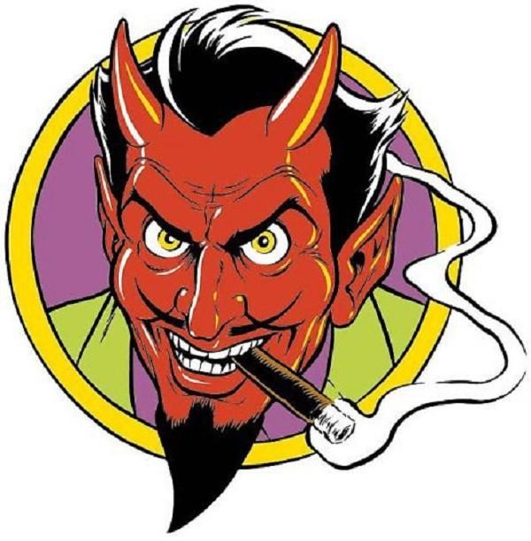 Картинки смешной дьявол