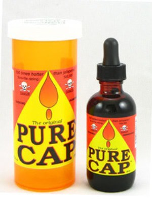 11.Pure Cap Hot Sauce: Ferociously Fiery Hot Sauce (500,000 Heat Units) еда, острота, перец