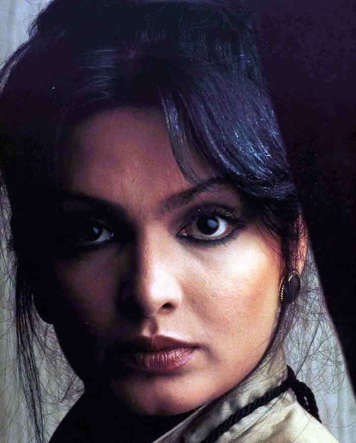 Парвин Баби — индийская актриса Безумцы, гении