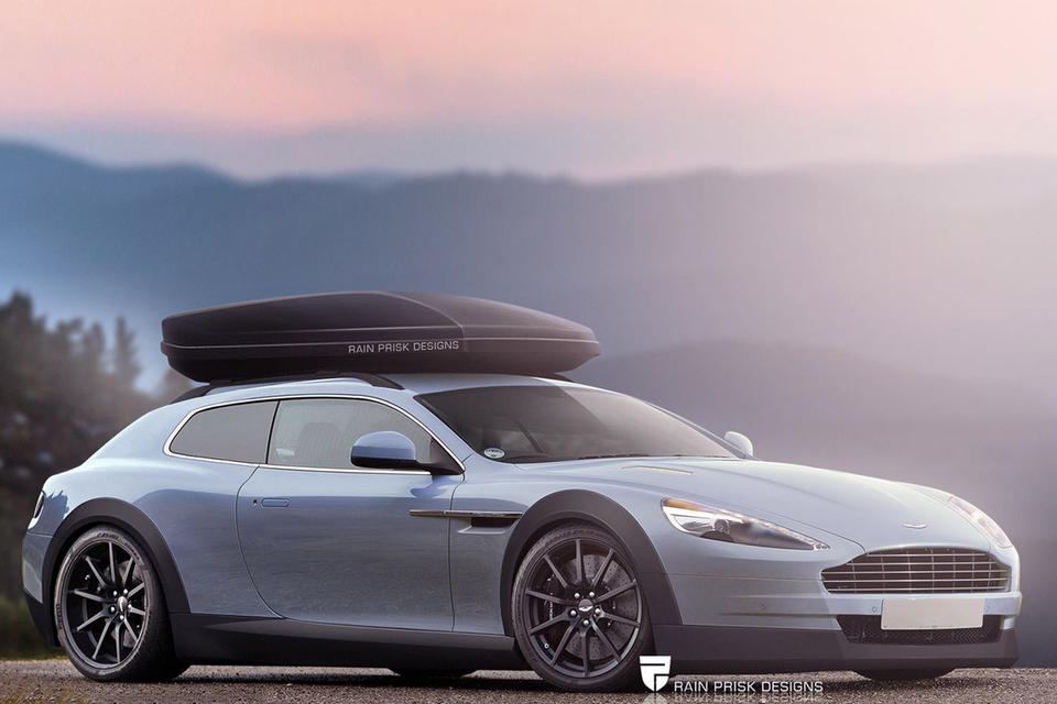 Aston Martin Virage shooting brake, автодизайн, универсал, шутинг-брейк