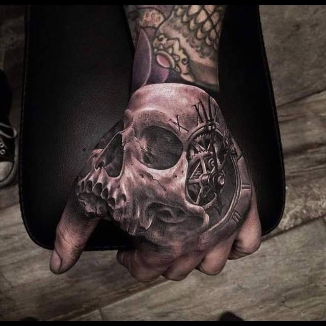 30 невероятных 3D татуировок! Таких тату вы еще не видели! рисунок, тату, татуировка, тело
