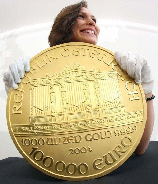 следующее самая большая монета в мире картинки актер впервые