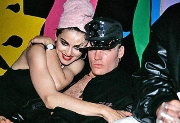 Мадонна и Vanilla Ice звездные пары, любовь, отношения