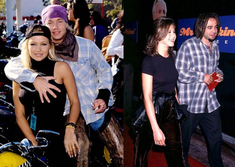 Звездные пары 90-х - они были молоды, счастливы и любили друг друга звездные пары, любовь, отношения