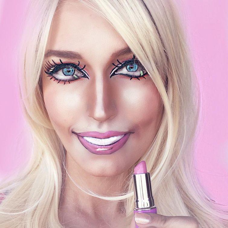 Барби Ребекка Свифт, война, девушка, макияж