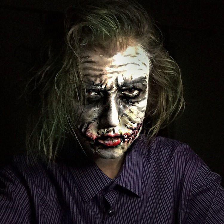 Джокер Ребекка Свифт, война, девушка, макияж