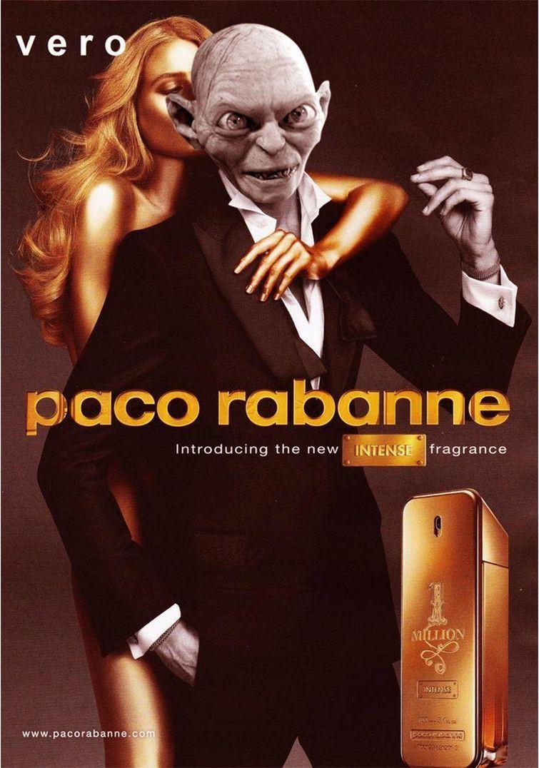 Прелесть от Пако Рабан злодеи, реклама