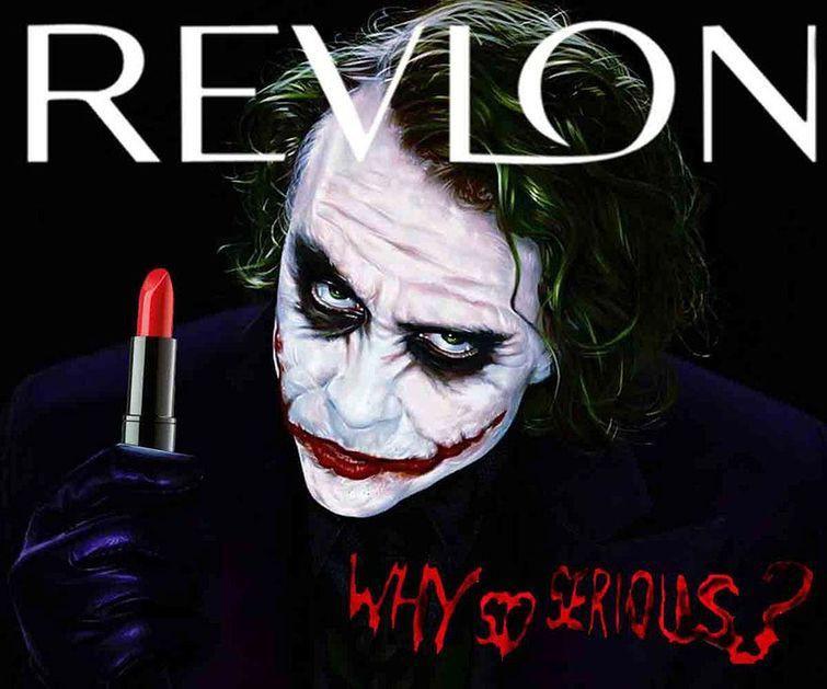 """""""Revlon. Чё ты такой серьёзный?"""" злодеи, реклама"""