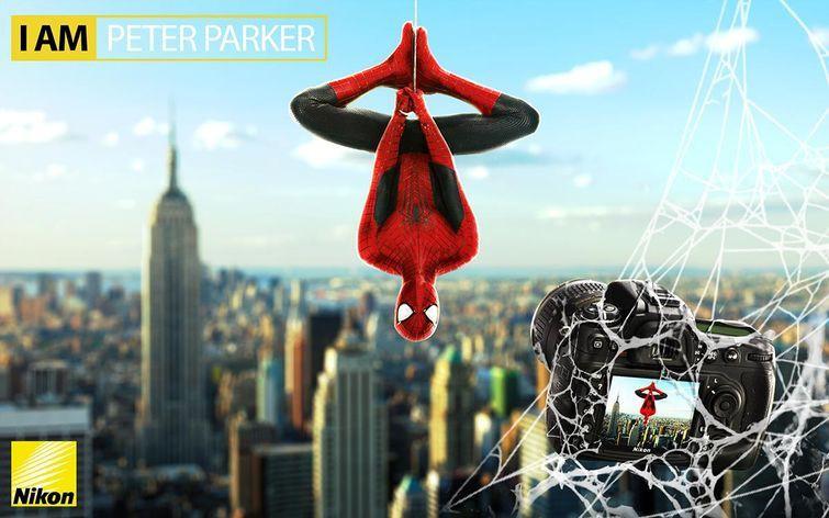 Человек-паук раскрыл свою тайну в рекламе фотоаппаратов Nikon злодеи, реклама
